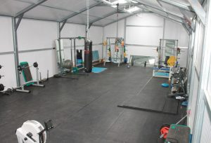 Adman Steel Sheds St. Mary's Gaa Club New Gym Building